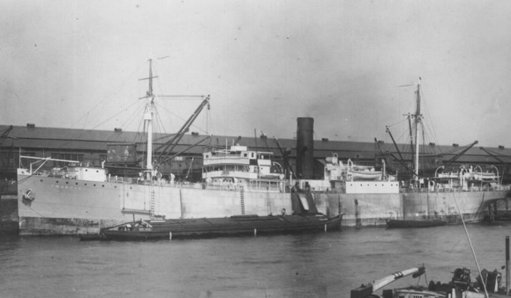 Затонувшее судно wreck розали моллер ss
