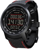 Часы Suunto Elementum Terra N/Black/Red Leather