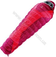 Спальник Deuter Exosphere -4° Regular fire-cranberry