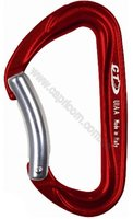 Карабин Climbing Technology Passion Bent anodized