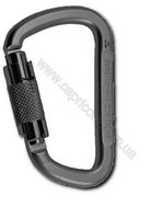 Карабин Rock Empire Steel Carabiner D KL-2T Black