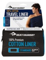 Вкладыш в спальник Sea To Summit Premium Cotton Travel Liner Standard (Rectangular)